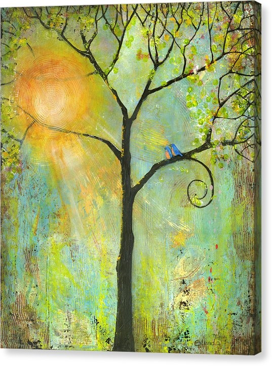 Blenda Studio - Hello Sunshine Tree Birds... Print