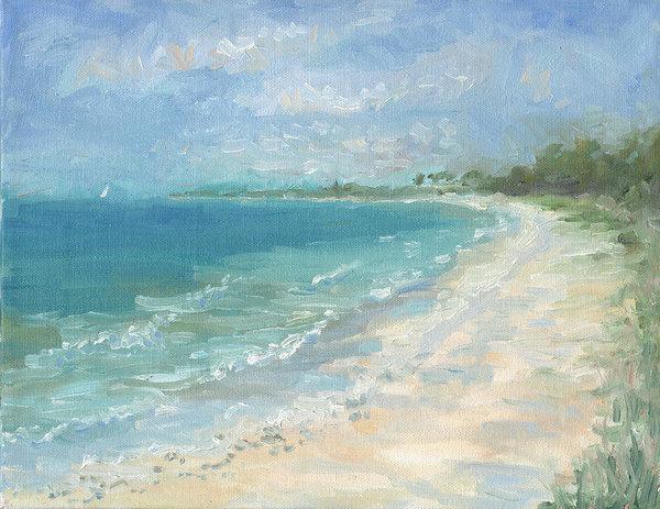 Rachel Ramm - Captiva Island Beach Print
