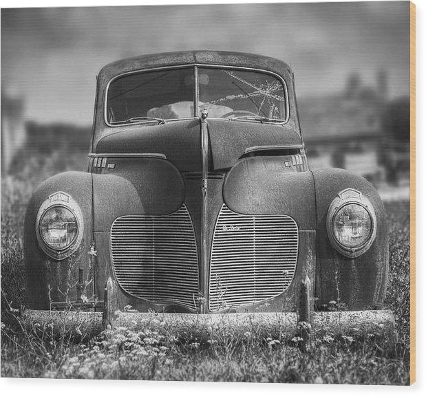 Scott Norris - 1940 DeSoto Deluxe Black ... Print