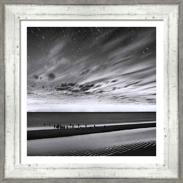 Karen Regan - Herring Cove Beach in Bla... Print