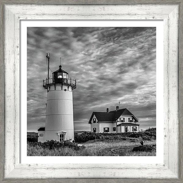 Susan Candelario - Race Point Lighthouse Sun... Print