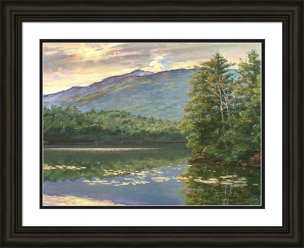 Sharon Jordan Bahosh - Monadnock Vista at Thornd... Print