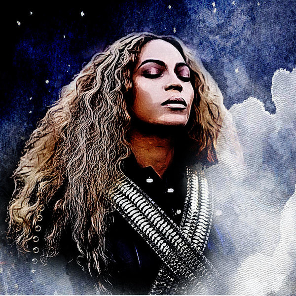 The DigArtisT - Beyonce  Print