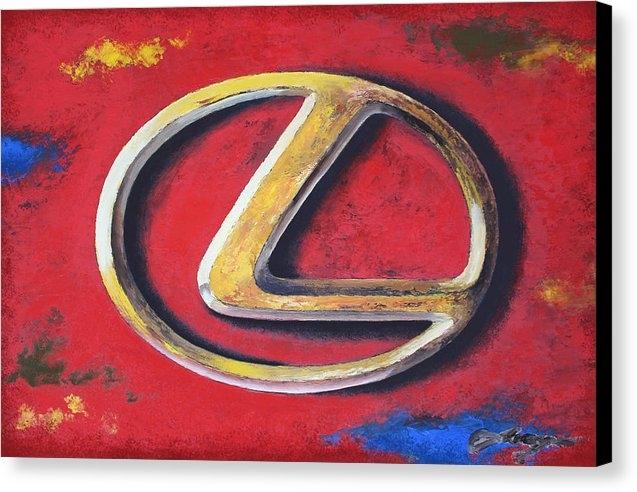 Dan Haraga - Lexus - BRUTE LUXURY Print