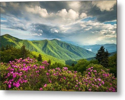 Dave Allen - Asheville NC Blue Ridge P... Print