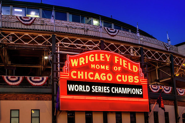Andrew Soundarajan - Chicago Cubs Win Print