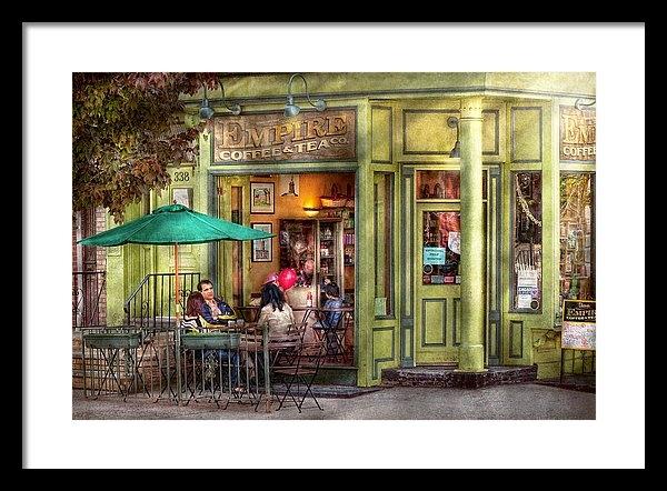 Mike Savad - Cafe - Hoboken NJ - Empir... Print
