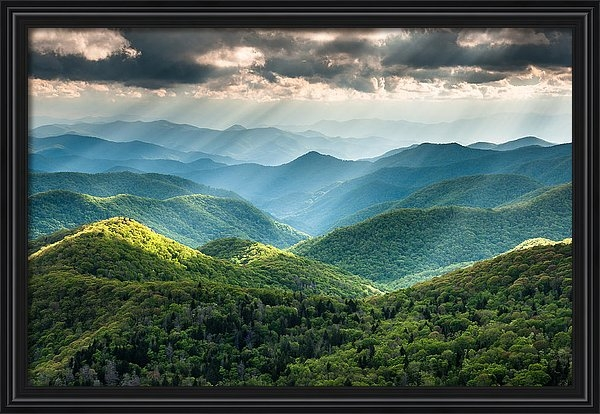 Mark VanDyke - Blue Ridge Southern Appal... Print