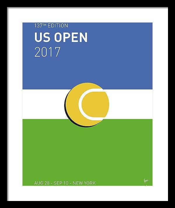 Chungkong Art - My Grand Slam 04 Us Open ... Print