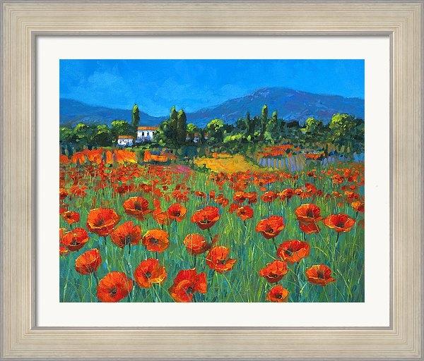Chris Mc Morrow - Poppyfield Print