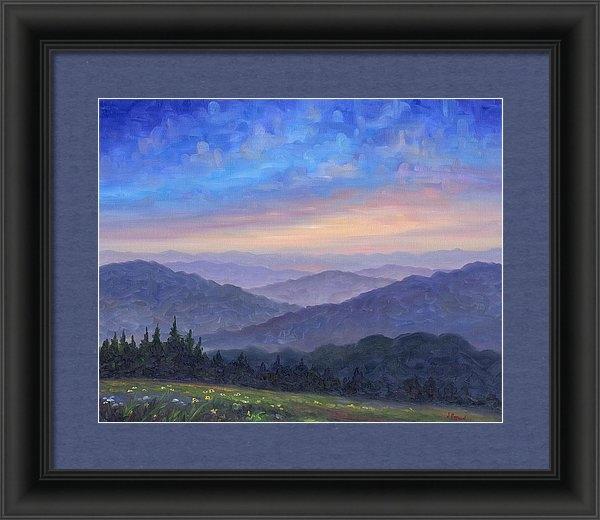 Jeff Pittman - Smoky Mountain Wildflower... Print