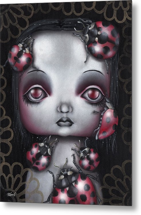 Abril Andrade Griffith - Lady Bug Girl Print