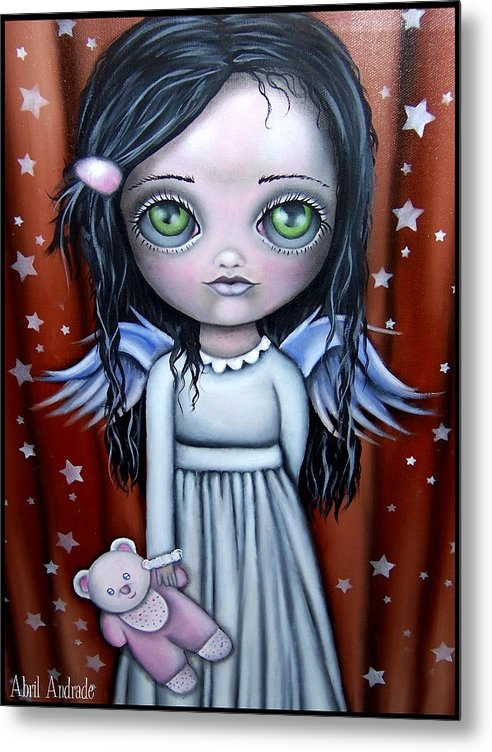 Abril Andrade Griffith - Angel Girl Print