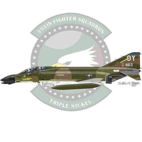 Arthur Eggers - F-4D Phantom Print