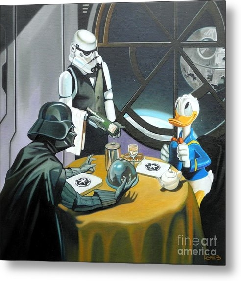 Michael Loeb - Join the dark side Donald Print