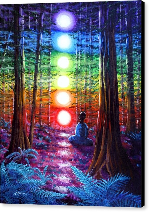 Laura Iverson - Chakra Meditation in the ... Print