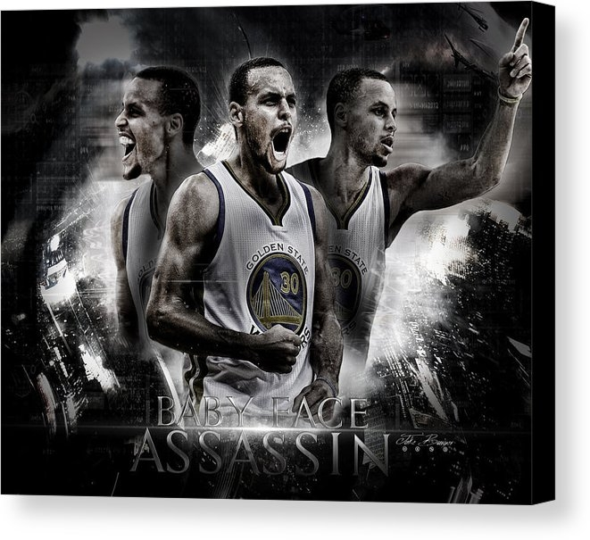 Jake Barger - Stephen Curry Print