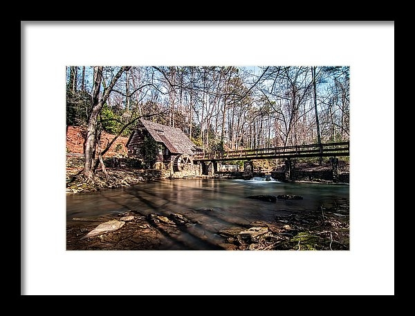 Andy Crawford - Mountain Brook Mill Print
