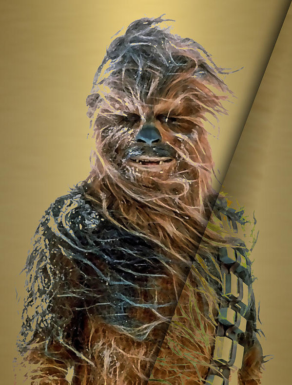 Marvin Blaine - Star Wars Chewbacca Colle... Print