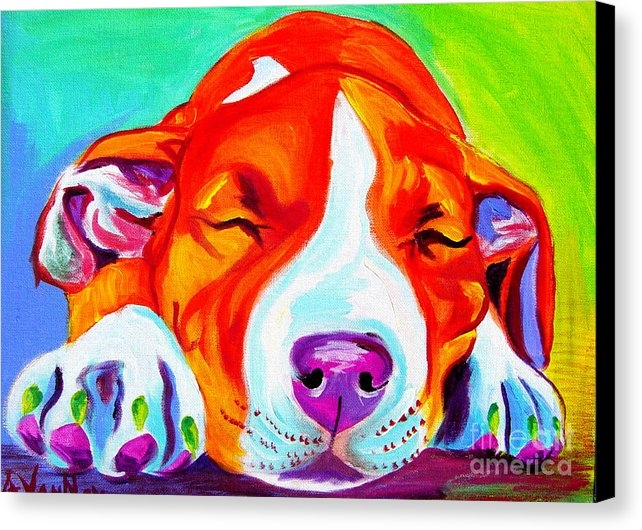 Alicia VanNoy Call - Pit Bull - Naptime Print
