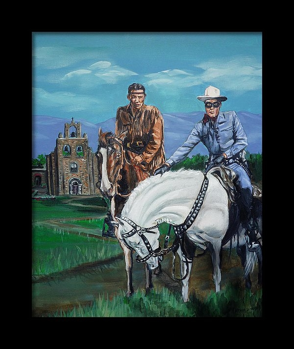 Bryan Bustard - The Lone Ranger and Tonto... Print