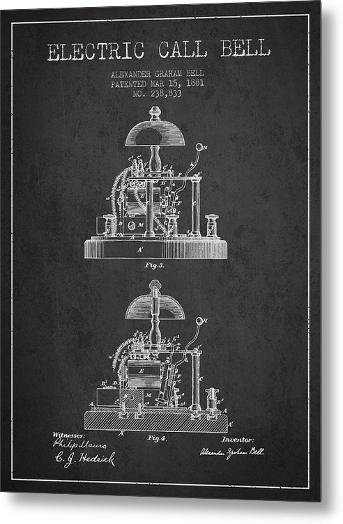 Aged Pixel - Alexander Bell Electric C... Print
