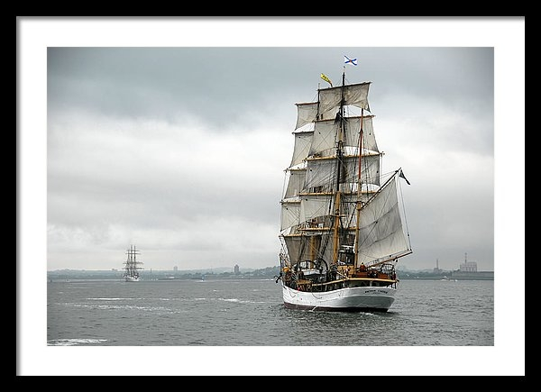 Peter Chilelli - Boston Harbor Tall Ships Print