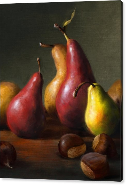 Robert Papp - Pears with Chestnuts Print