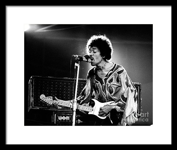 Chris Walter - Jimi Hendrix Live Halo 19... Print