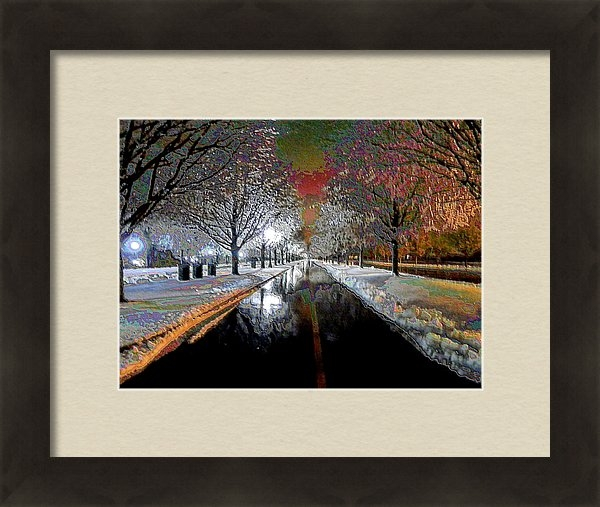 Christopher Hignite - Icy Entrance to Keeneland Print