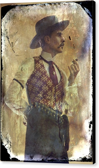 Toni Hopper - Gunslinger III Doc Hollid... Print