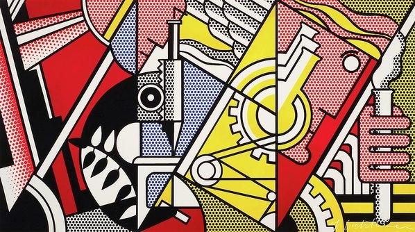 Roy Lichtenstein - Peace Through Chemistry I Print