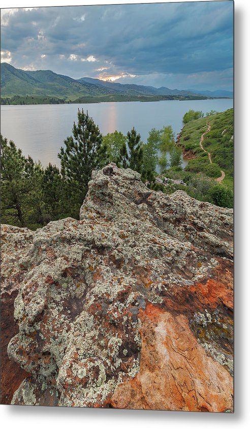 Matt Thalman - Rocky Overlook at Horseto... Print