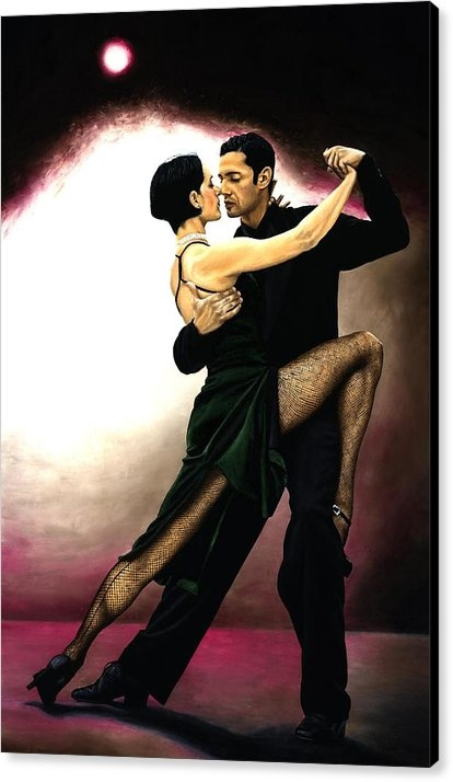 Richard Young - The Temptation of Tango Print