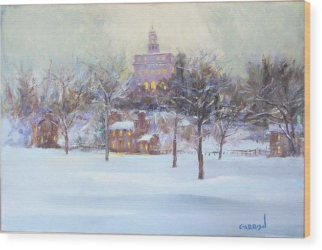 David Garrison - Nauvoo Winter Print