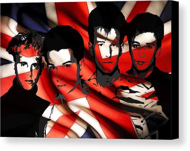 Steve K - Depeche Mode 80s heros Print