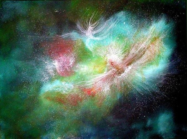 Naomi Walker - Birth of Angels Print