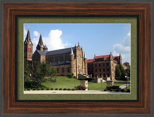 Thia Stover - St. Meinrad Archabbey and... Print