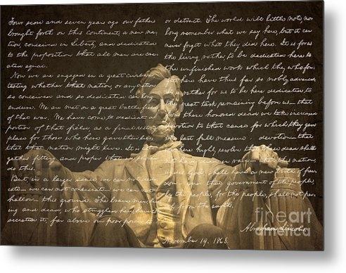 Diane Diederich - Gettysburg Address Print