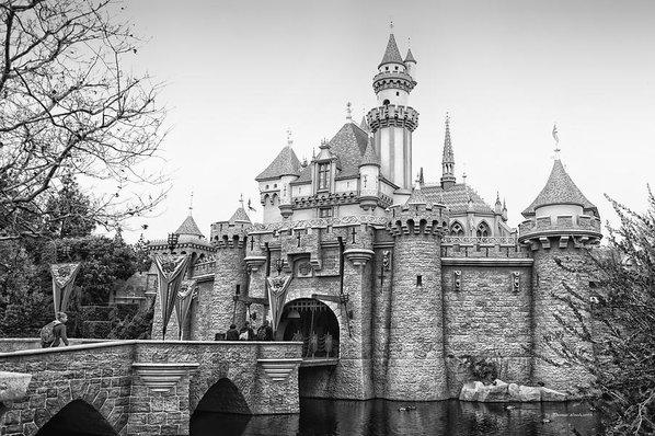 Thomas Woolworth - Sleeping Beauty Castle Di... Print
