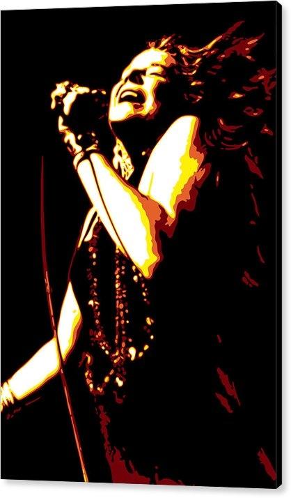 DB Artist - Janis Joplin Print
