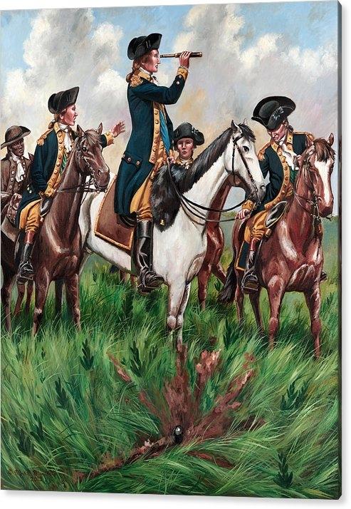 Mark Maritato - George Washington on Perr... Print
