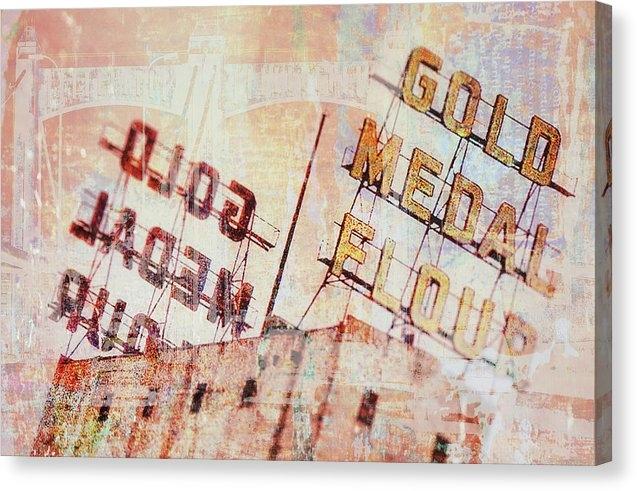 Susan Stone - Gold Medal Flour  Print