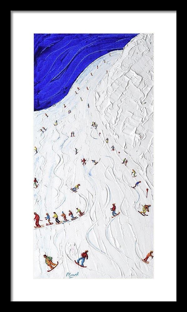 Pete Caswell - Piste 14 St Anton Print