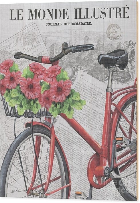 Debbie DeWitt - Paris Ride 2 Print