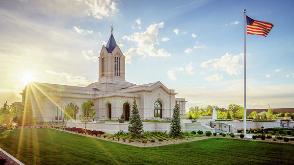 Bruce Tracy - Fort Collins Temple Print