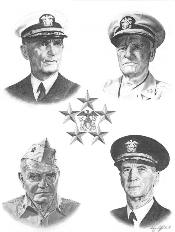 Stacy Clifford - The Fleet Admirals Print