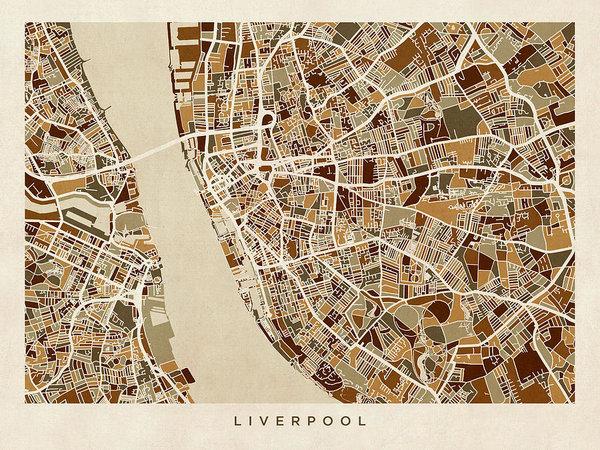 Michael Tompsett - Liverpool England Street ... Print