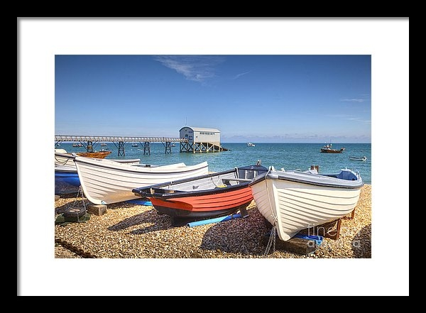 Colin and Linda McKie - Selsey Bill West Sussex Print