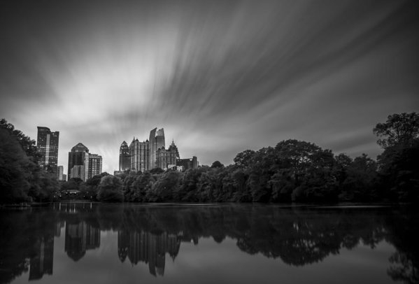 Gray Mitchell - Atlanta Piedmont Park Clo... Print